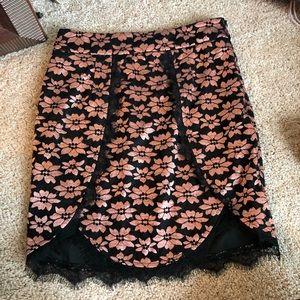 LF floral skirt